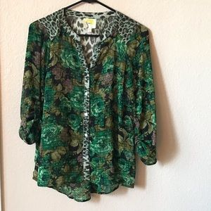 🔥Fig and Flower Anthropologie blouse size PS🔥